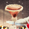santa clausmopolitan is a festive twist on the classic cosmopolitan martini, although as expected, this martini is a sweeter version of the tasty cocktail that tastes more like a holiday dessert and pairs well with holiday appetizers, ho ho ho
