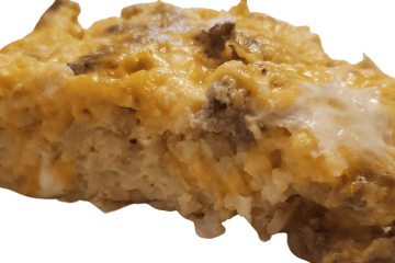 sausage hash brown casserole is a great breakfast casserole that consists of eggs, breakfast sausage, and shredded potatoes and makes a delicious meal to be served for special occasions, brunch, or any time you need to feed a larger group of people