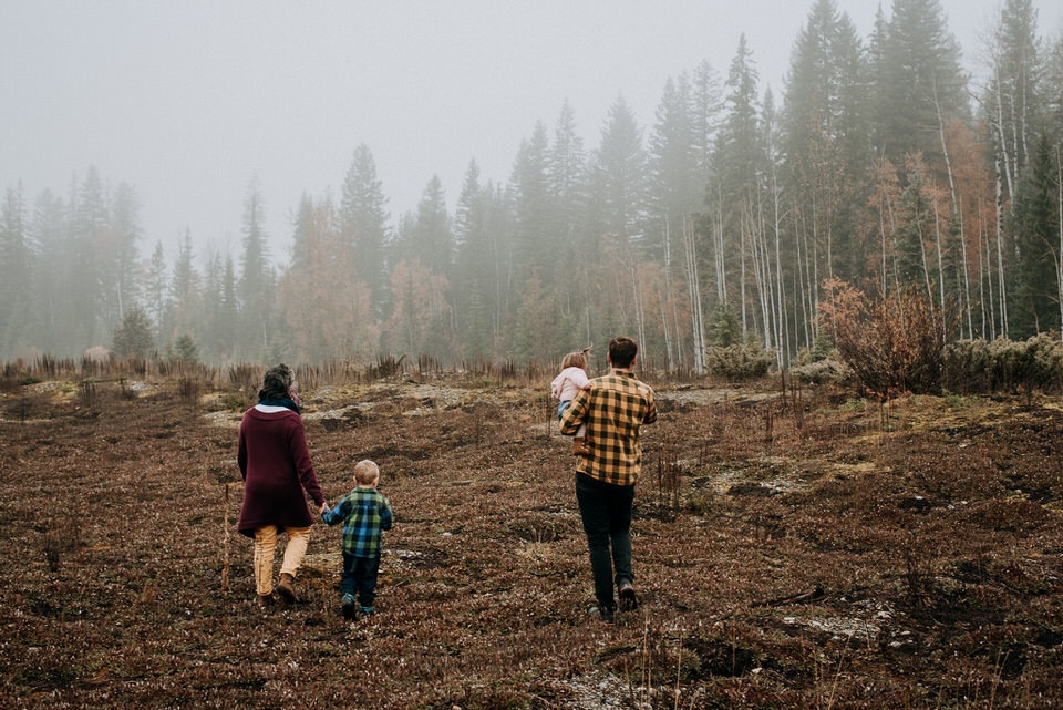 Family Photography in Golden BC
