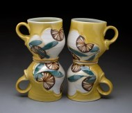 four yellow cups 2011