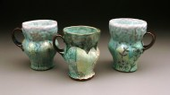 cups 2004, earthenware, decals