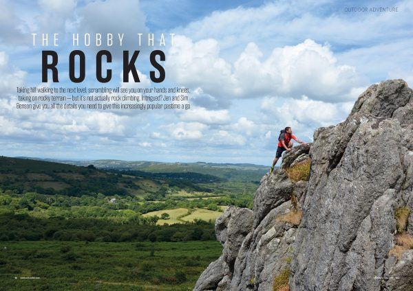 Get into Scrambling feature for Outdoor Fitness magazine