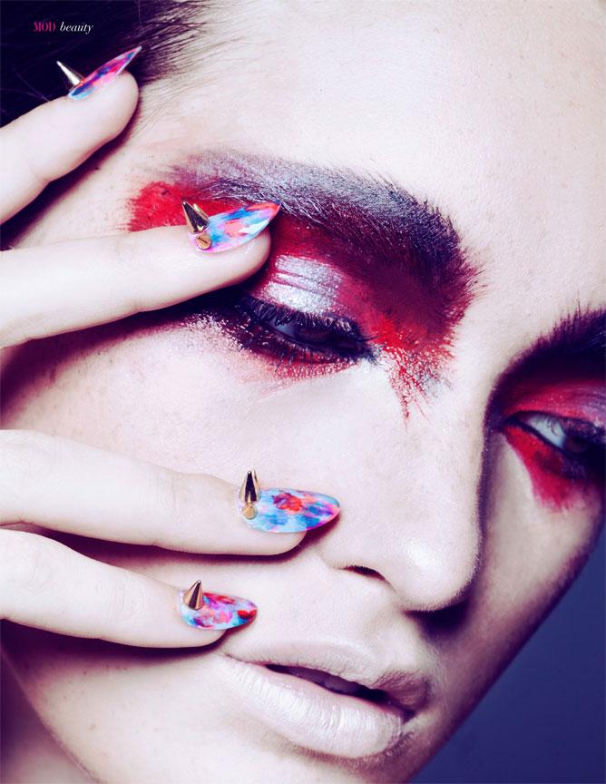 Red Beauty Portrait