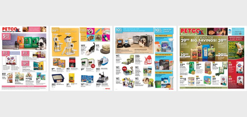 Petco Circular Ad Pages
