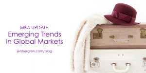 mba global trends markets