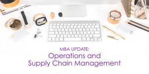 mba supply chain