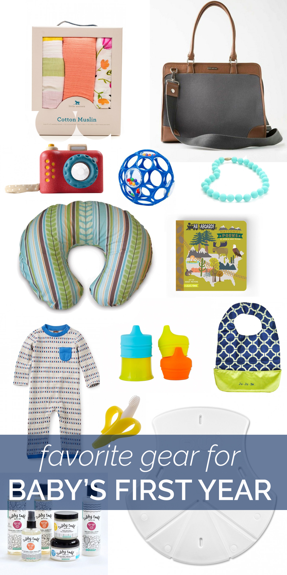 my favorite gear for baby's first year