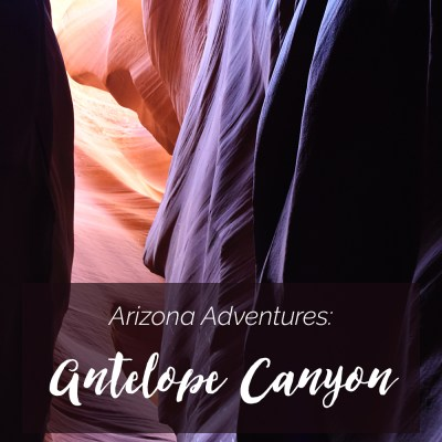 Tips + information for visiting Antelope Canyon with kids