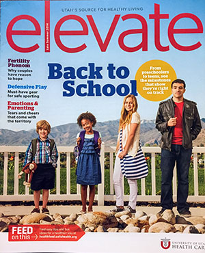 Elevate magazine, Fall 2015, a University of Utah Health Care publication