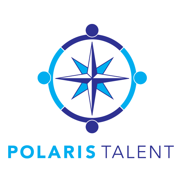 Polaris Talent Compass surrounded by people logo