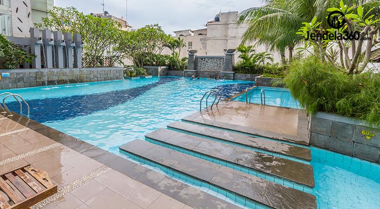 kolam renang apartemen the lavande residence