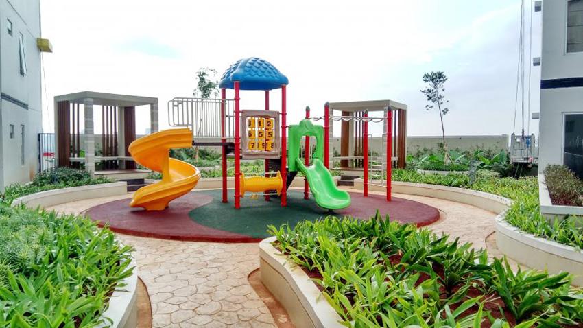 Taman bermain di Bassura City