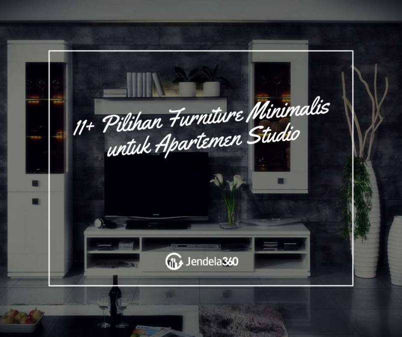19 Pilihan Furniture Minimalis untuk Apartemen Studio