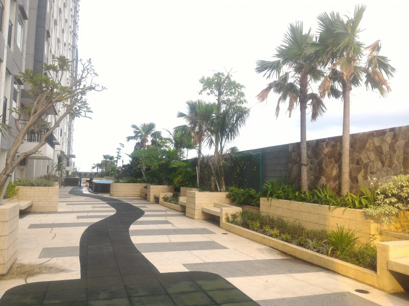 sky garden di apartemen sunter icon