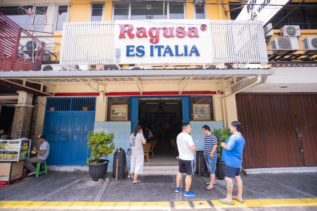 Kuliner Legendaris Ragusa Gambir Jakarta