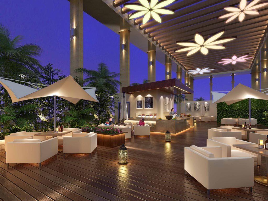 Rooftop Cafe Garden