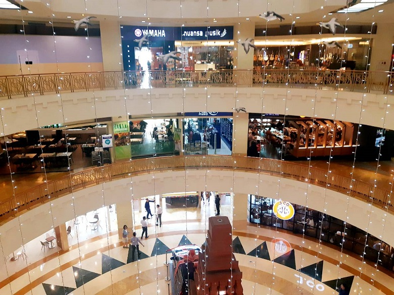berapa harga sewa kios di mall