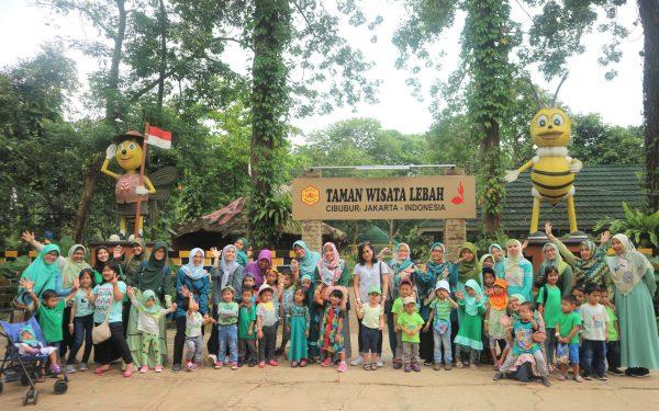 TEMAN MAIN ke Taman Wisata Lebah Jakarta