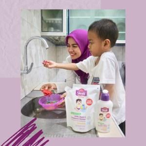sleek baby cleanser melindungi kebersihan 1000 hari pertama kehidupan