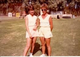 Geraldton Grass Round Robin. Jenny MacKay & Sue Smith