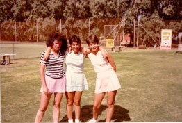 Pat Bourke, Sheryl Holland, Jenny MacKay