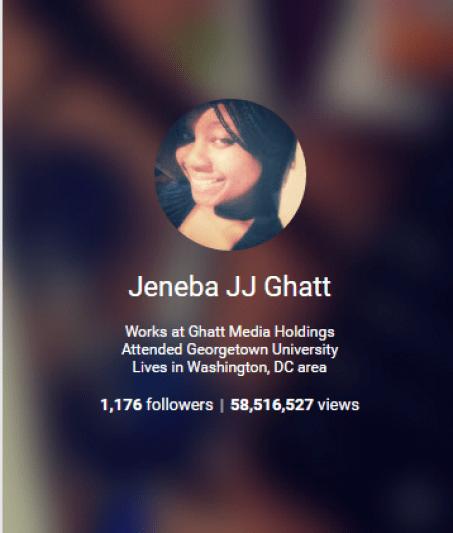 Jeneba JJ Ghatt Google