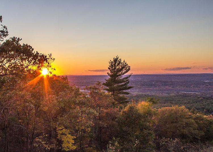 Blue-Hills-Reservation-Sunset