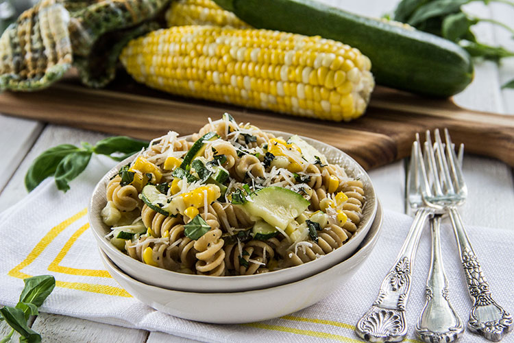 Grilled-Zucchini-and-Corn-Pasta-with-Parmesan