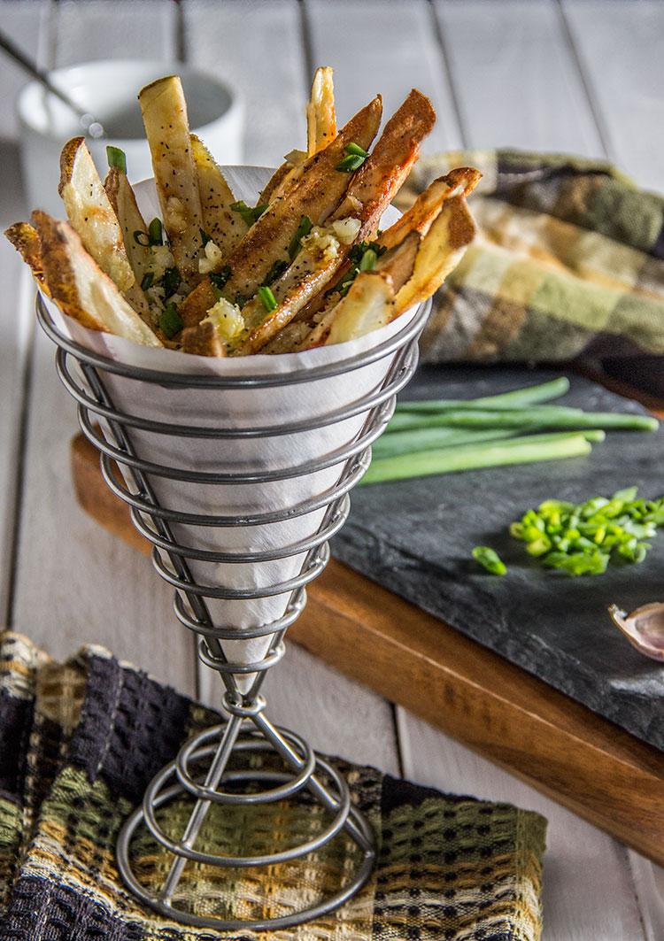 Herb-Garlic-Baked-Fries