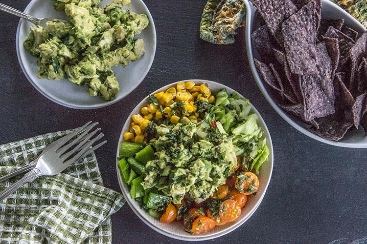 Southwest-Guacamole-Chicken-Chopped-Salad