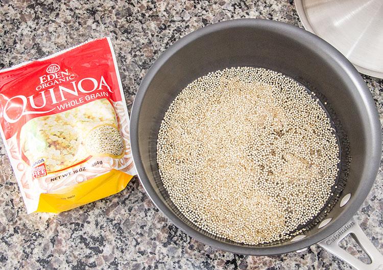 preparing-quinoa