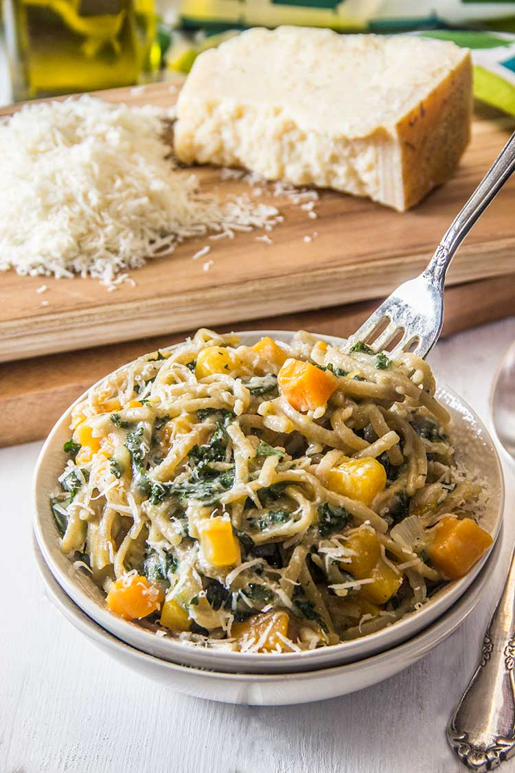 One-Pot-Squash-and-Kale-Pasta