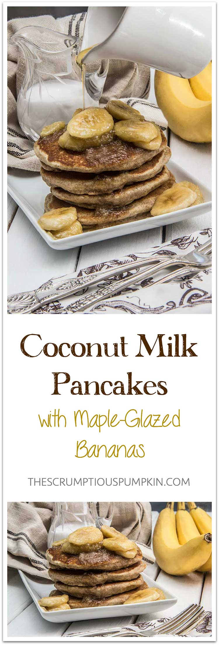 Coconut-Milk-Vegan-Pancakes-with-Maple-Glazed-Bananas