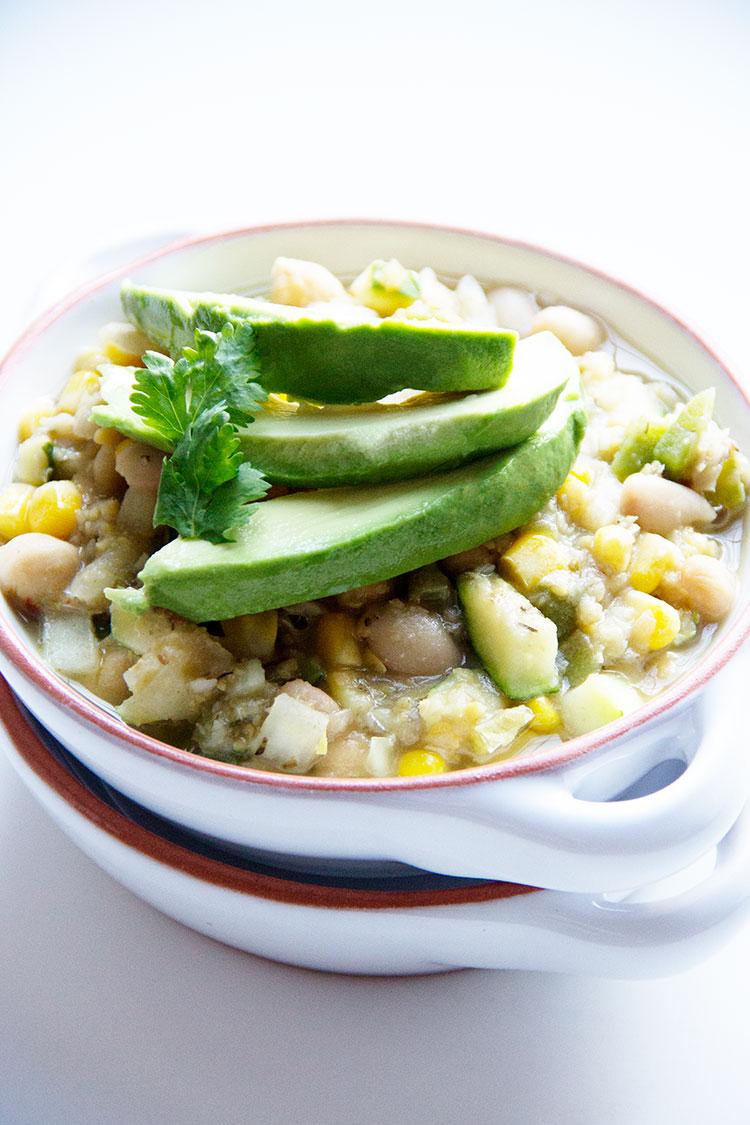 Slow-Cooker-Vegetarian-White-Chili