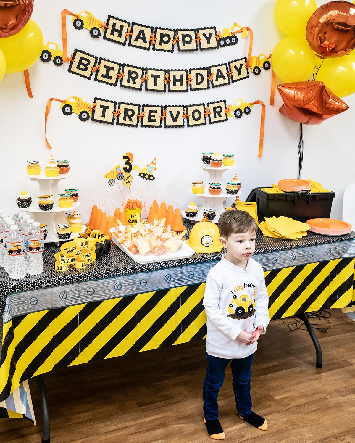 Construction Site Party Happy Birthday Trevor Jen Elizabeth S Journals