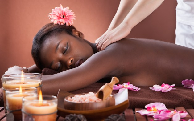Image result for spa black person