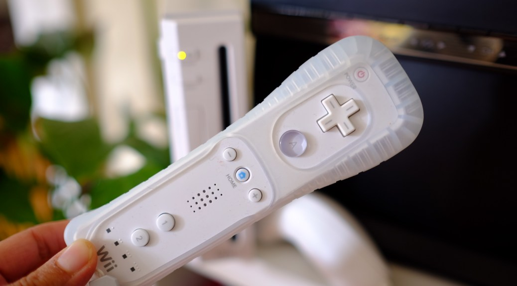Nintendo Wii and controllers