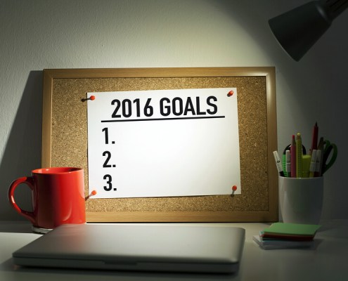 A blueprint action guide to help you stick to your new year resolution goals in 2016.