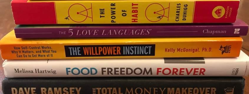 Popular personal development books