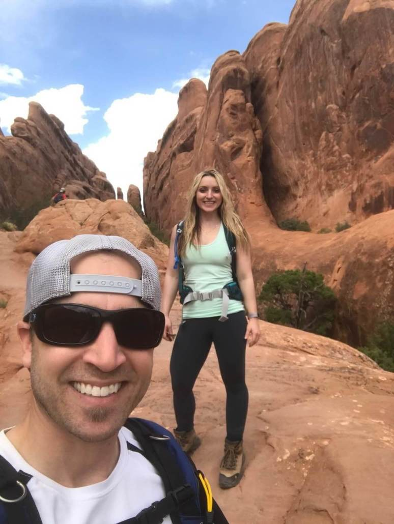 Primitive Trail in Arches National Park