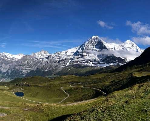 Swiss Alps Hiking Männlichen to Kleine Scheidegg