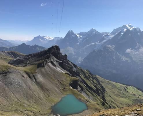 Swiss Alps Hiking Schilthorn