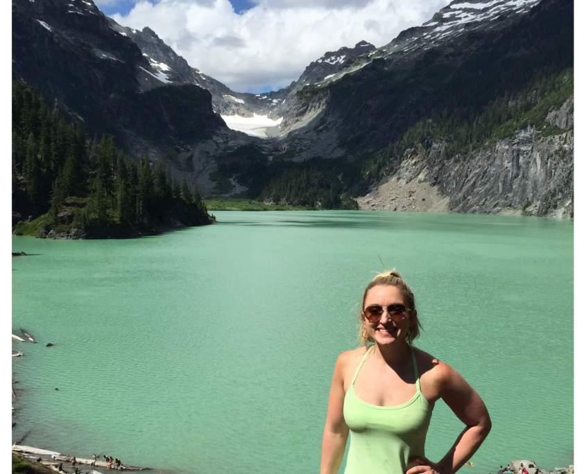 Blanca Lake trail