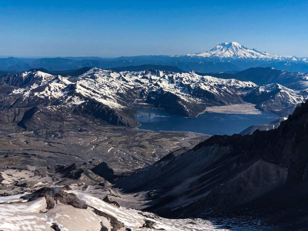 Mount Saint Helens Summit - Worm Flows