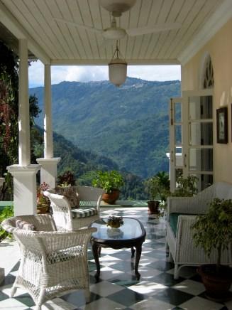 Darjeeling Town from Verandah