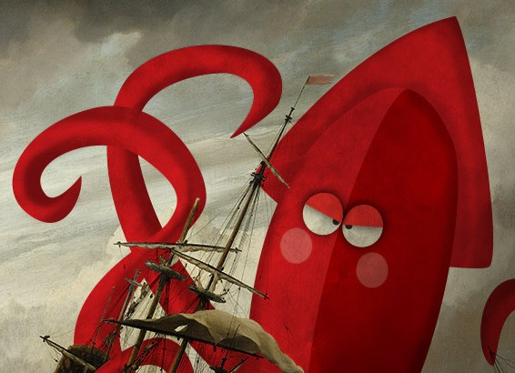 The Kraken illustrated by Jennifer Farley