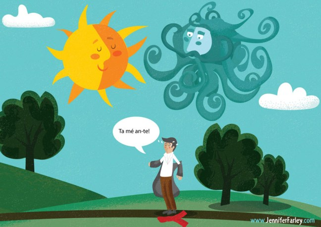 6-SunHappy illustrated by Jennifer Farley