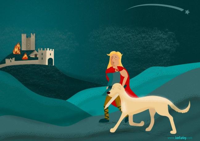 Fionn and the dragon Jennifer Farley
