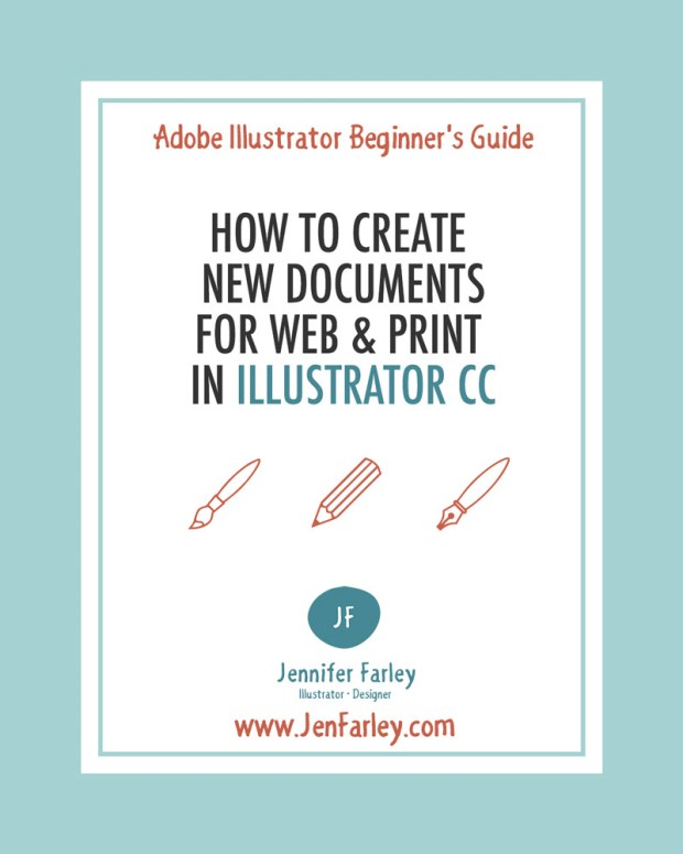 The Start Workspace In Illustrator CC & How to Create New Documents