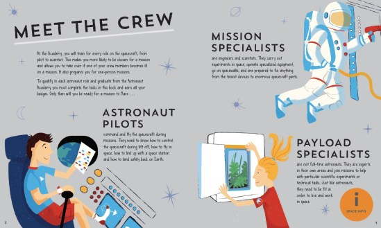 Astronaut Academy - illustrated by Jennifer Farley